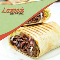 """Picture of 8"""" Beef Gyro Donair Wrap"""