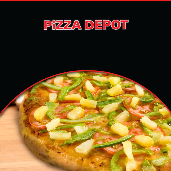 """Picture of 14"""" Large Spicy Veggie Deluxe Pizza"""