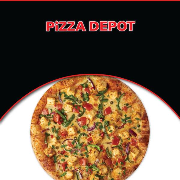 "Picture of 14"" Large Tandoori Paneer Pizza"