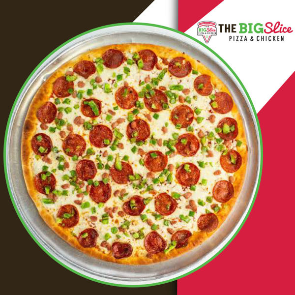 Picture of Large Build Your Own Pizza