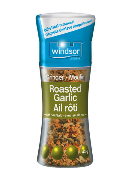 Picture of WINDSOR ROASTED GARLIC & SEA SALT GRINDER [43 g]