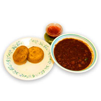 Picture of Aloo Tikki with Channa (pl)